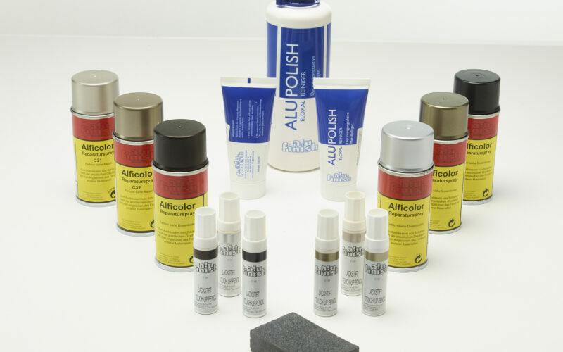 Geanodiseerde materialen zelf onderhouden of herstellen